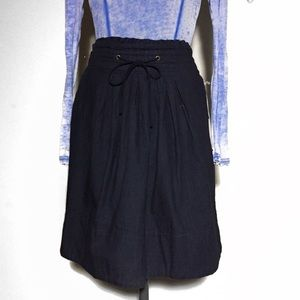 NEW A New Day Dark Chambray Skirt L